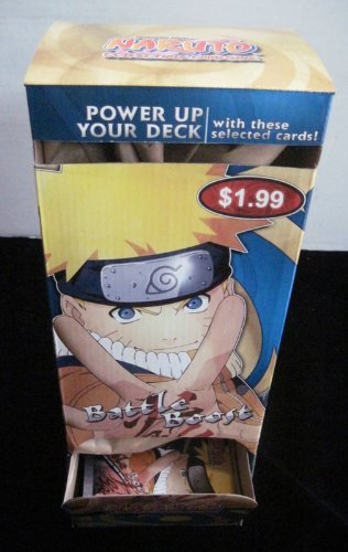 Naruto Battle Boost TCG Gravity Feed Box - 36 Packs - Series ()
