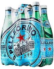 Sanpellegrino Sparkling Mineral Water, 1L, (Pack of 6)