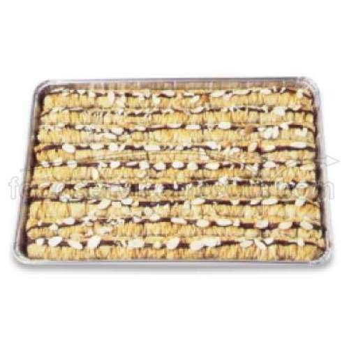 Athens Foods Chocolate Almond Roll Baklava - Dessert -- 45 per case.