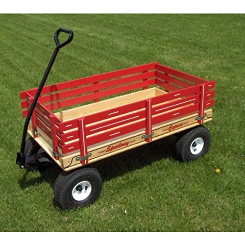 Series 500 Speedway Express Wagon with Removable Sides & Air Tires - Capitol Tires