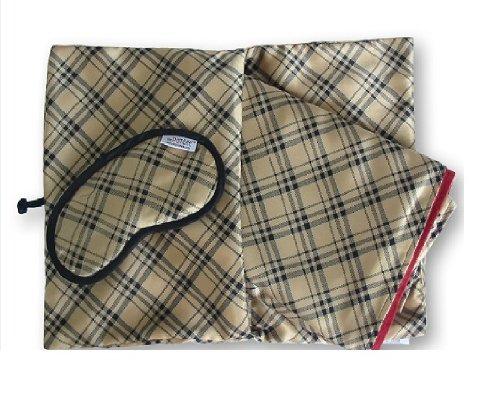 PamBee luxury travel blanket set (Notting Hill (Class Travel Blanket Set)