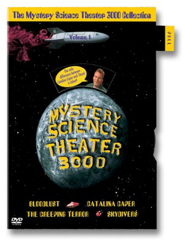 The Mystery Science Theater 3000 Collection, Vol. 1 (Bloodlust / Catalina Caper / The Creeping Terror / Skydivers) by WEA DES Moines Video