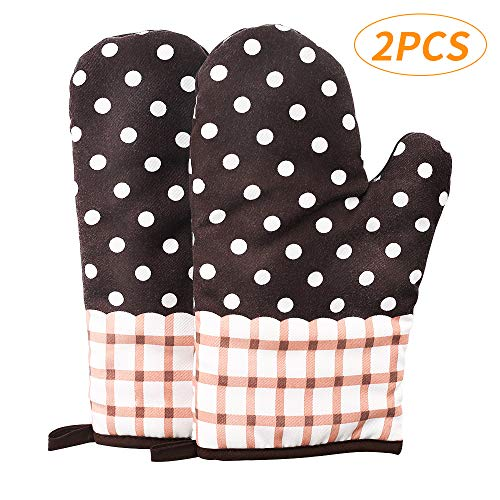 Used, YU HOME 2PCS Heat Resistant Oven Mitts, Pot Holders for sale  Delivered anywhere in USA