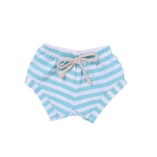 Covermason Niños Ropa Venta de liquidación Newborn Infant Baby Girls Boys Shorts a rayas Summer Bottoms Bloomers(12M, Azul): Amazon.es: Productos para ...