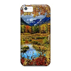 Iphone 5c Hard Case With Awesome Look - MHPLpER2438JelPU