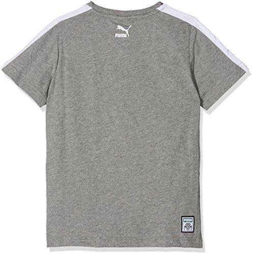 shirt Tee Puma Enfant T Heather Medium Minions Gray Czxwqtx8