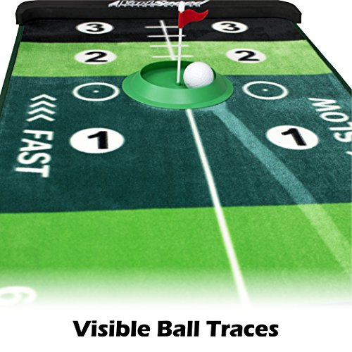 VariSpeed Putting System - Practice 4 Different Speeds On One Mat! by ProActive Sports (Image #3)