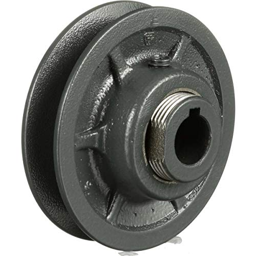 Browning 1VP34X5/8 Variable Pitch Sheave, 1 Groove, Finished Bore, Cast Iron Sheave, for 3L, 4L or A, 5L or B Section Belt