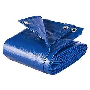 HOLISTAR Lona Impermeable de Protecci/ón Exterior 6x8m Resistente al Agua y a los Rayos UV 180g//m/² Verde