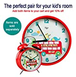 "12"" Children Silent Wall Clocks for Kids Room"