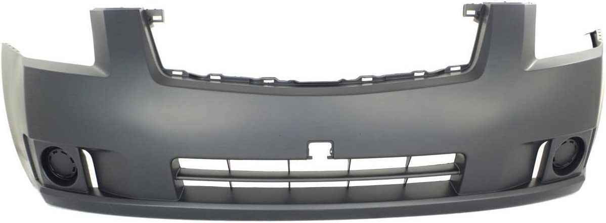 MBI AUTO NI1000242 Front Bumper Cover Fascia for 2007 2008 2009 Nissan Sentra 2.0 Liter Engine 07 08 09 Painted to Match