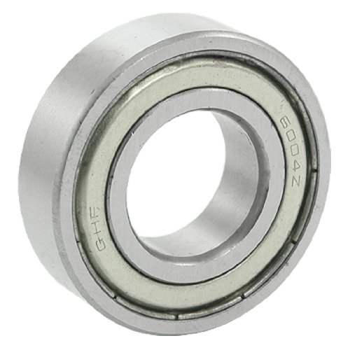 - Uxcell a11111600ux0021 6004Z Electric Motor Double Metal Shielded 20 x 42 x 12mm Metric Ball Bearing, 1.65