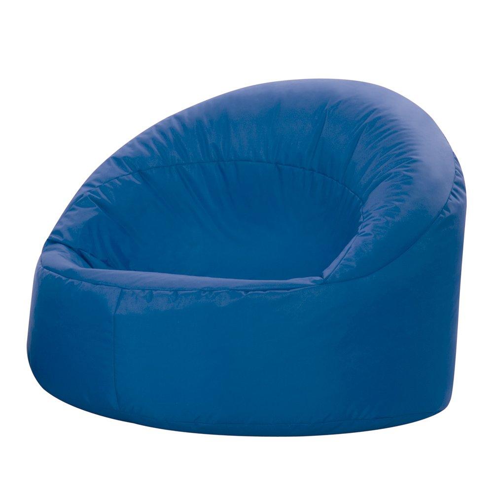 Bean Bag Bazaar Kids Hug Chair-Large, Indoor Outdoor Water Resistant, Polyester, Blue, Small CUPODS013