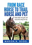 From Race Horse to Trail Horse and Pet