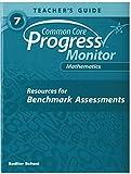 Common Core Progress Monitor Math Grade 7 Teacher's Edition