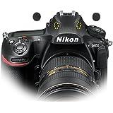 Sony A7 A7III A7RIII Nikon d850のマイク内蔵ウインドスクリーンマフ、GOMET Mini風フィルタステッカーX 2パケット( 4個)