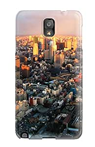For Galaxy Case, Tokyo City For Galaxy Note 3 Cover Cases Sending Free Screen Protector