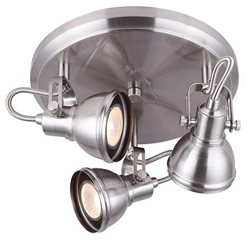 Nickel 3 Light Spot Light - 6