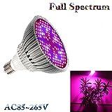 Full Spectrum Led Grow Light Lamp UV IR 80W E27 For Plants Vegetables Flower Hydroponic System Grow