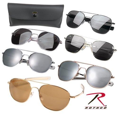 Rothco Gi Type Sunglasses, 52mm/'Ce', Black, - Mens Types Of Sunglasses