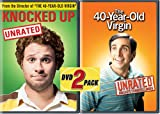Universal Knocked Up[ur & Unprotected/40 Year Old Virgin[ur]2pk[dvd/side By Side]