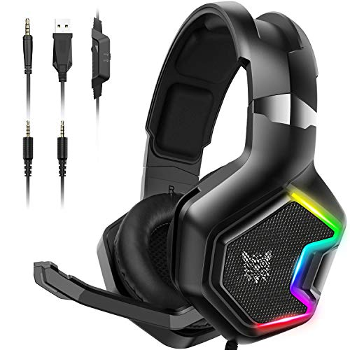 ONIKUMA PS4 Headset -Xbox One Headset Gaming Headset with 7.1 Surround Sound...