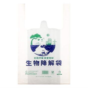 Biodegradables Bolsas De Plástico Ecológicas De Maíz Planta ...