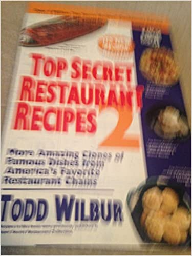 Book Top Secret Restaurant Recipes 2