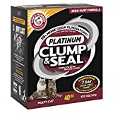 Arm & Hammer Clump & Seal Platinum Litter, Multi-Cat, 40 Lbs