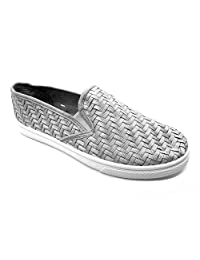 "Blue Women's Veave 2"" Slip-on Sneakers in Black, Bronze and Silver (Size 6,7,8,9,10)"