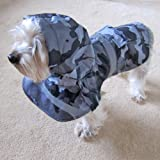 Alfie Couture Designer Pet Apparel – Waterproof Camouflage Raincoat – Color: Camouflage, Size: S, My Pet Supplies