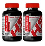 antioxidant compound - CHOLESTEROL RELIEF - ALL NATURAL FORMULA - cholesterol essential oil - 2 Bottles (120 Capsules)
