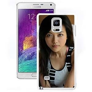 Unique Designed Cover Case For Samsung Galaxy Note 4 N910A N910T N910P N910V N910R4 With Lele Yang Girl Mobile Wallpaper (2) Phone Case