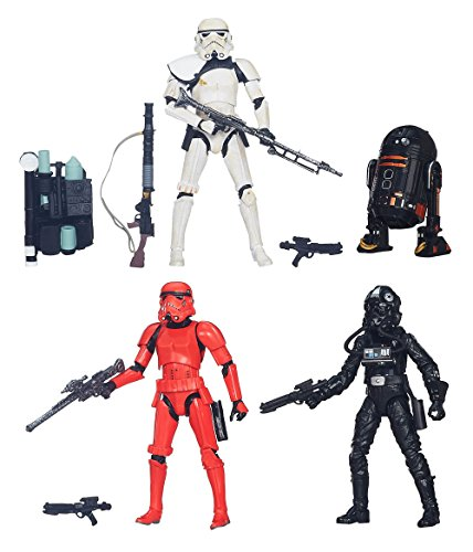 "STAR WARS THE BLACK SERIES IMPERIAL FORCES 6"" 4-PACK ACTION"