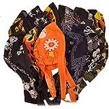 Great Deals! 12 Pack Assorted Biker Skull Caps