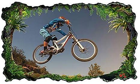 3D Wandtattoo Sport Bicicleta Ciclista Tipo de Deporte BMX ...