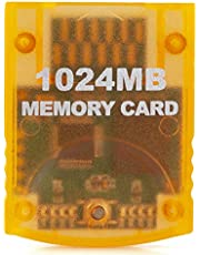 RGEEK 1024MB(16344 Blocks) High Speed Game Memory Card Compatible for Wii Gamecube