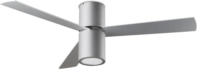 Diseño Ventilador de techo FORMENTERA gris Incluye LED de iluminación de 132cm de ledes de C4