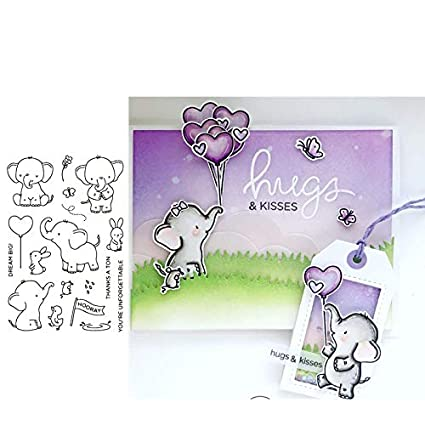 fence cutting dies Decorative Embossing Scrapbooking Craft clear Stamps Card