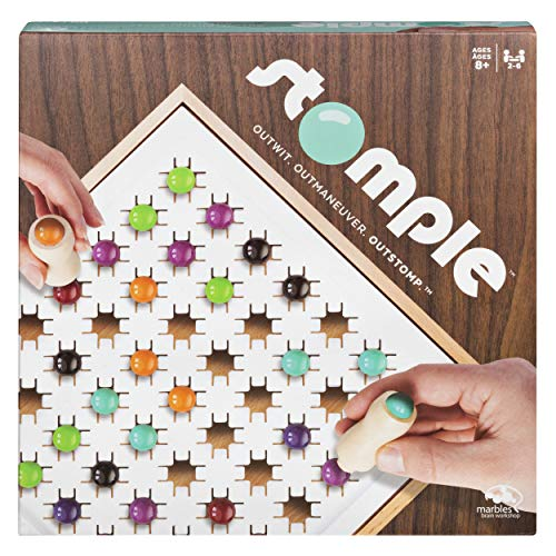 Stomple Game by Marbles Brain Workshop, Fun Strategy Game for Kids Aged 8 & Up (The Game Marble)