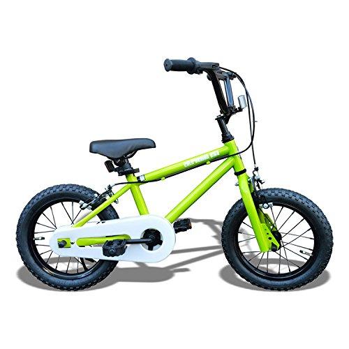 Californian カリフォルニアンキッズバイク フィルダー(ライムグリーン) /子供用自転車/BMXスタイル/アメリカン雑貨/ B018HL8EPG