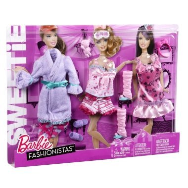 Barbie My FAB Life Night Looks Fashion - Sweetie/slumber Party - New in 2011 by Barbie