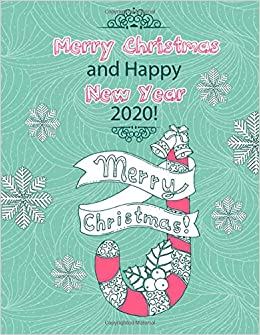 Amazon Com Merry Christmas And Happy New Year 2020 Stress
