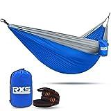 RXS Camping Hammock Portable Parachute Hammock, 210T Nylon...