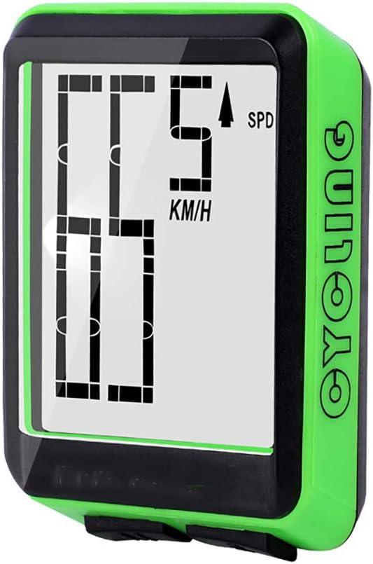 SAKURAM Bicicleta Cuentakilómetros Velocímetro Inalámbrico ...