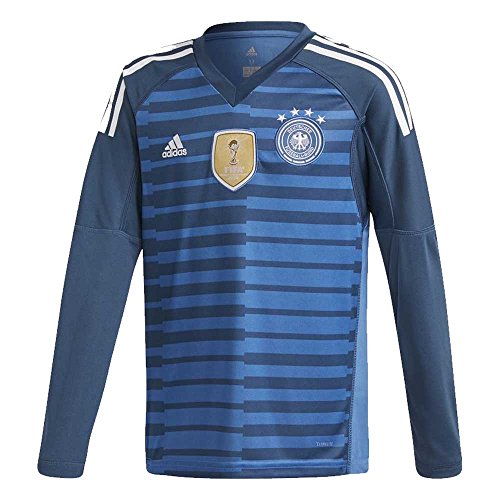 Germany Home KIDS Goalkeeper Jersey 2018 / 2019 - XS / 128cm (Goalie Jerseys Adidas Soccer)