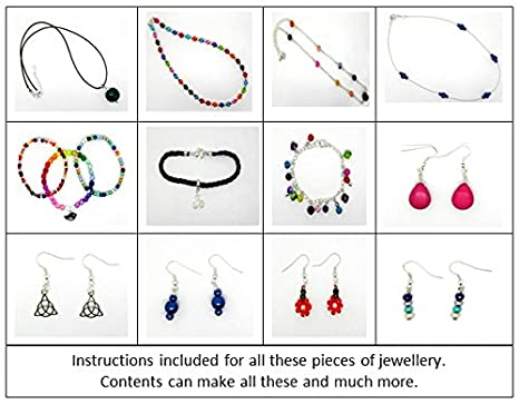 Jewellery Making Kit For Beginners Instructions Included