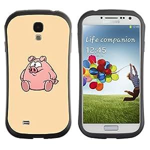 "Pulsar iFace Series Tpu silicona Carcasa Funda Case para SAMSUNG Galaxy S4 IV / i9500 / i9515 / i9505G / SGH-i337 , Ronda Fat lindo de la historieta"""
