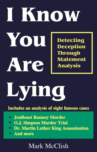 I Know You Are Lying cover
