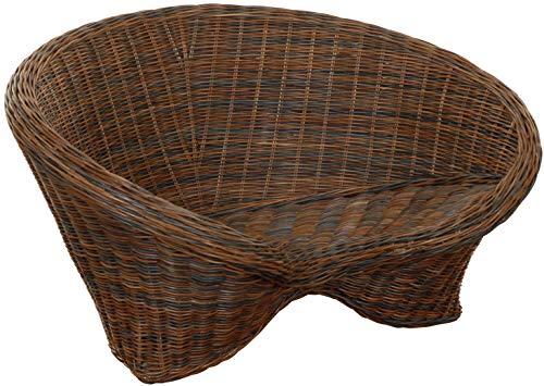 Lotus Outdoor Rattan Chair in Colour Zebrano de